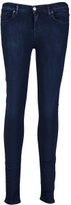 Donkerblauwe Jeans For All Mankind Super Skinny
