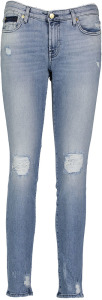 Licht Blauwe Jeans 7 For All Mankind