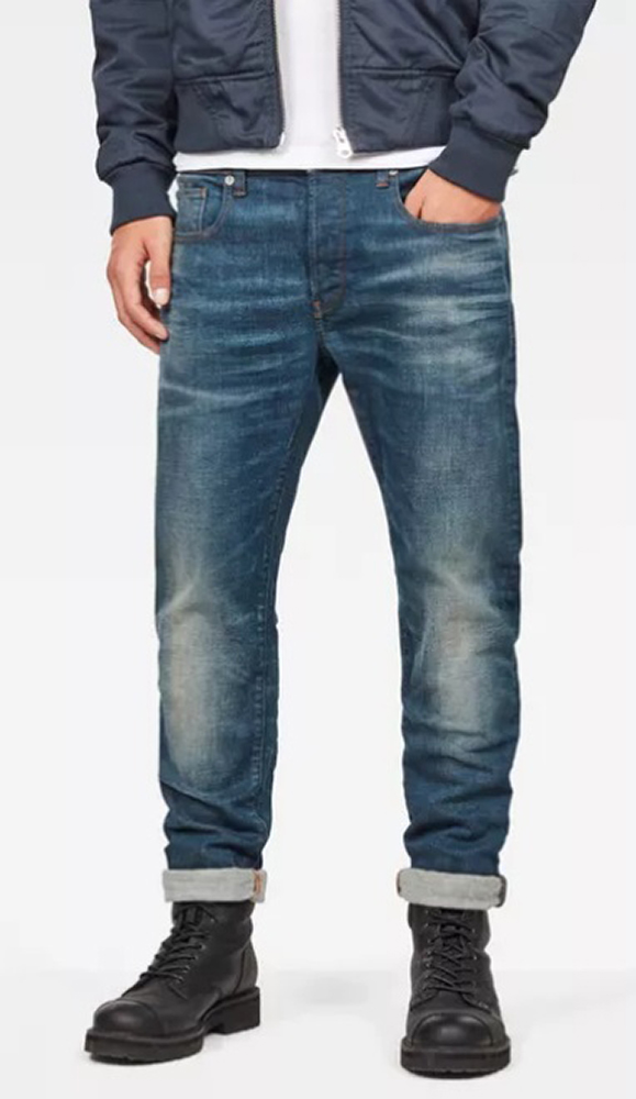 Lichtblauwe Jeans Slim Fit G-Star