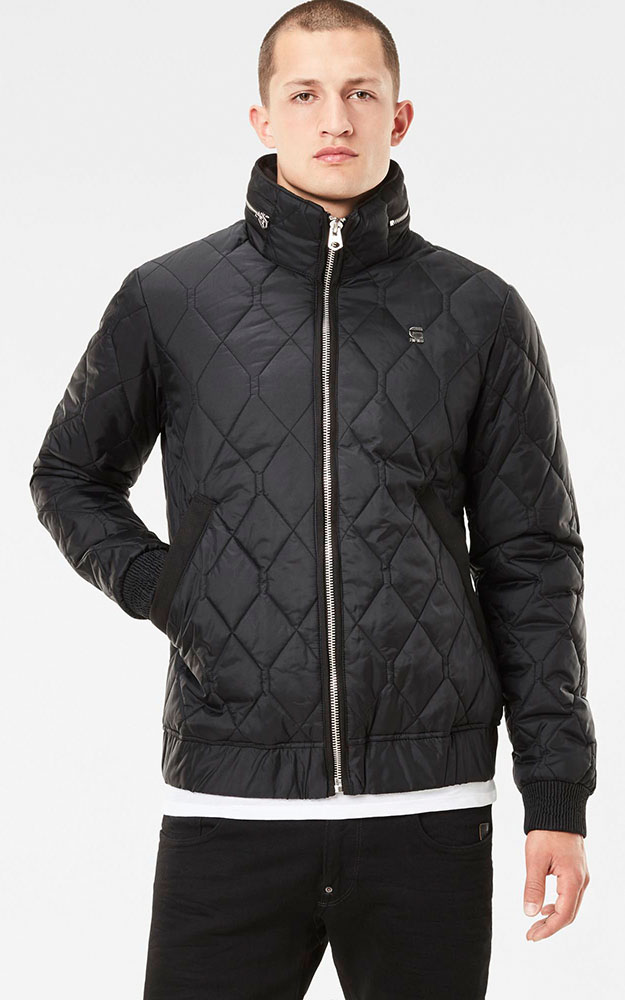 Zwarte Winterjas G-star Raw