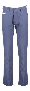 Bugatti Blauwe broek met donker motief  Pisa 5-pocket