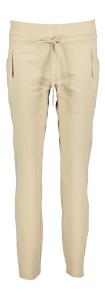 Cambio Beige broek met elastische tailleband Jessy
