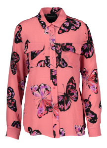 Atos Lombardini Roze bloes met vlindermotieven