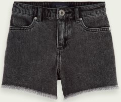 Scotch & Soda Zwarte jeans short