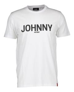Antwrp Witte T-Shirt met zwarte letters