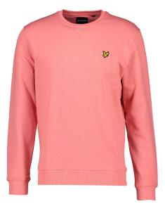 Lyle & Scott Roze sweater met geborduurd logo