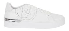 Liu Jo Effen witte sneaker met zilver detail  Silvia 33