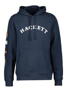 Hackett  donkerblauwe sweater met kap
