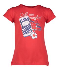Mayoral Rode T-Shirt met GSM print