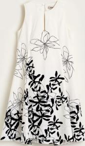 Natan edition 5 Beige kleed met zwarte print OEMIE Natan
