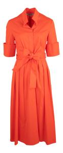 Natan edition 5 Rode elegante lange jurk Natan