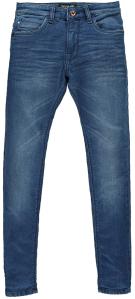 Cars Blauwe jeansbroek met omslag Slim Fit Burgo