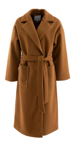 Ichi Cognac kleurige mantel