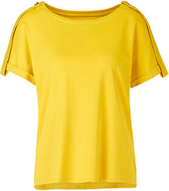 Marc Cain collections Gele t-shirt Marccain