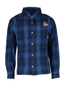 Timberland Blauw hemd met ruiten