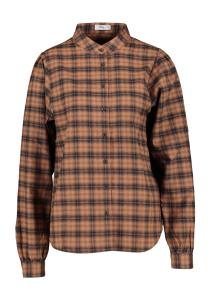 Closed Bruine blouse met zwarte ruiten