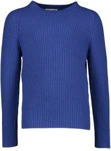 Simple Kids Blauwe trui met ronde hals