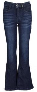 Retour Donkerblauwe flared jeans