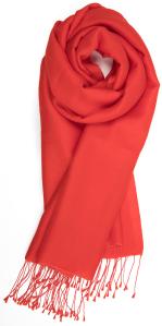 Natan edition 5 Donkerrode sjaal met sliertjes Natan