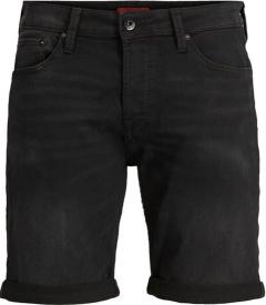 Jack & Jones Zwarte jeansshort Jjirick Jjico