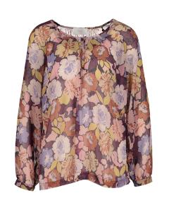 Her Multicolor blouse met bloemenprint Bravo