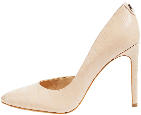 Lichtroze pumps Guess