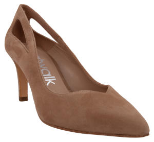 Beige Pump in Daim Catwalk
