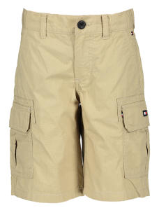 Beige short met zijzakken Straight fit Tommy Boys