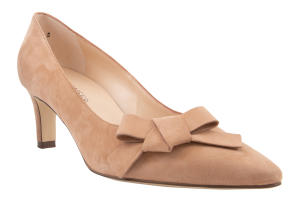 Beige Suede Pumps Peter Kaiser