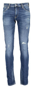 Blauwe destroyed jeansbroek BLUE JOGG Le temps Des Cérises