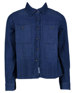 Blauwe Jeans Blouse AO