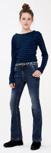Blauwe Jeans Bootcut By-Bar