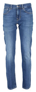 Blauwe jeans Slimmy Tapered For all Mankind