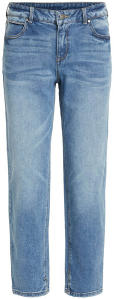 Blauwe jeansbroek Regular Waist Regular Fit Vila