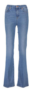Blauwe jeansbroek Slim illusion Bootcut For all Mankind