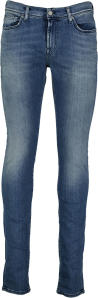 Blauwe Lange Jeansbroek RONNIE XL For All Mankind