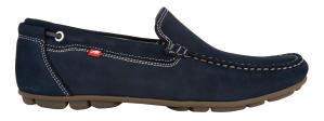 Blauwe loafers Fluchos