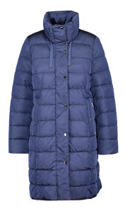 Blauwe Padded Wintermantel Gerry Weber