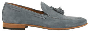 Blauwe suède loafers Scapa