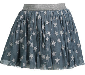 Blauwe Tule rok met Sterretjes Stella Mc Cartney