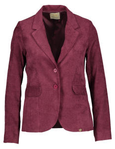 Bordeaux Ribfluwelen Blazer Very Simple