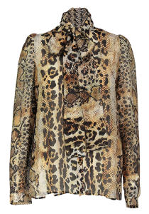 Dierenprint Blouse Just Cavalli