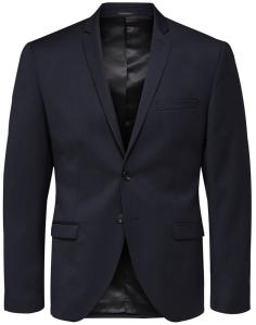 Dokerblauwe Blazer Selected Homme