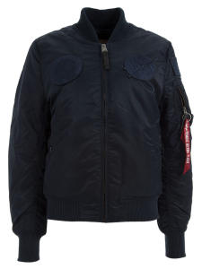 Donkerblauwe Bomberjacket Alpha Industries
