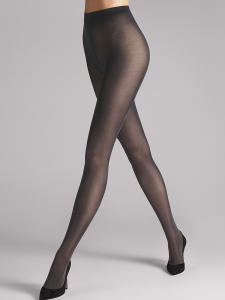 Donkerblauwe Panty Satin Opaque 50 Wolford