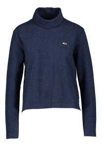 Donkerblauwe Rolkraag Pull Tommy Hilfiger