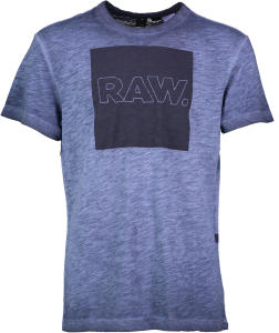 G-Star T-Shirt Blauw RAW