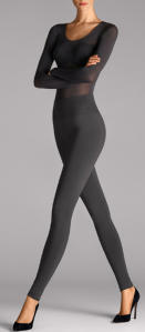 Grijze perfect fit Legging Wolford