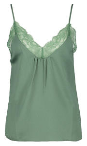 Groene top met kant Love Stories