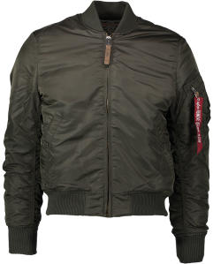 Kaki Bomber Jas Alpha Industries